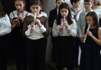 """Z kolędą na Dzień Babci i Dziadka w """"Parasolu""""."""